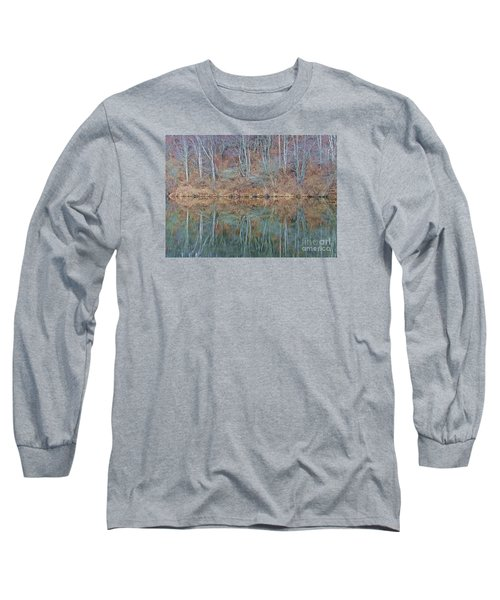 Water And Lace Long Sleeve T-Shirt by Christian Mattison