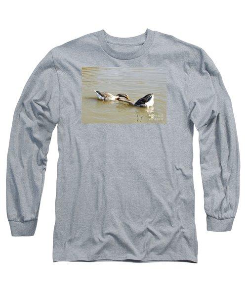 Water Arobics Long Sleeve T-Shirt
