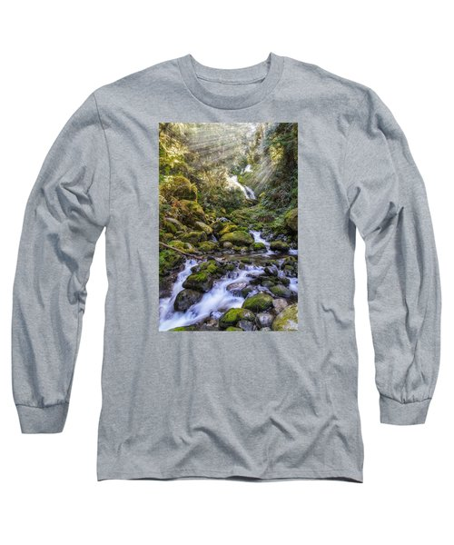 Water Dance Long Sleeve T-Shirt by James Heckt