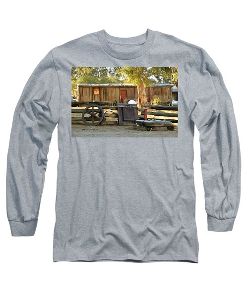 Long Sleeve T-Shirt featuring the photograph Water Draw At Hotel Nipton California By Floyd Snyder by Floyd Snyder