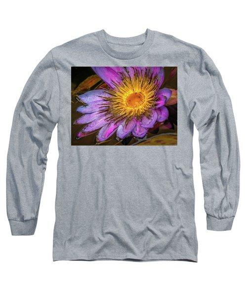 Water Flower Long Sleeve T-Shirt