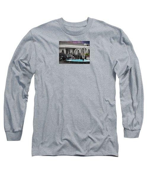 Water Fountain Long Sleeve T-Shirt by Robin Regan