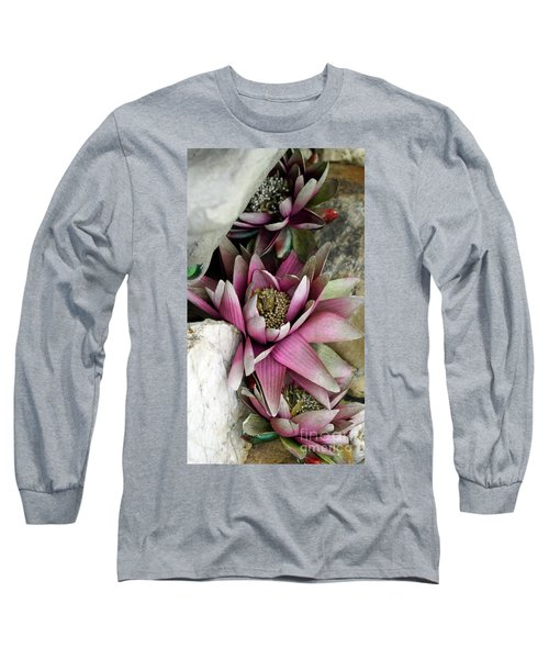 Water Lily - Seerose Long Sleeve T-Shirt