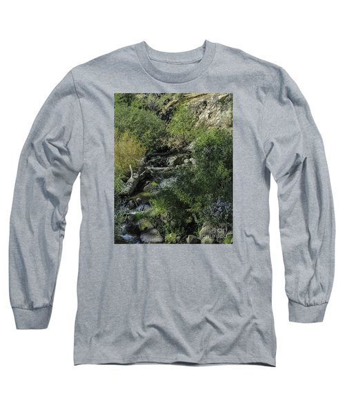 Long Sleeve T-Shirt featuring the photograph Water Logged by Nancy Marie Ricketts