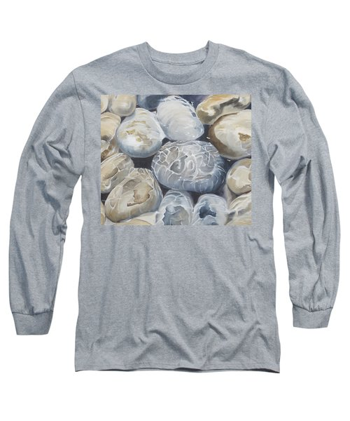 Water Of Pebbles Long Sleeve T-Shirt