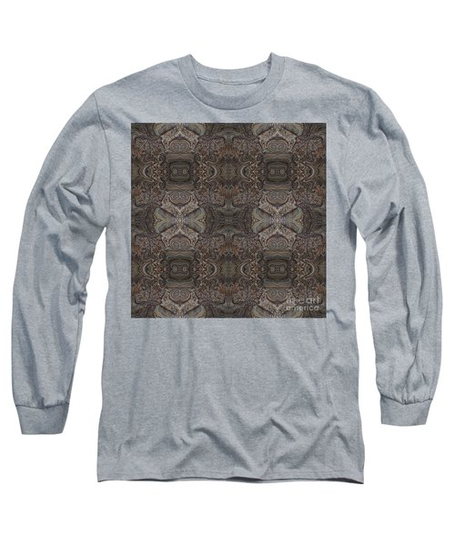 Water Pattern Long Sleeve T-Shirt