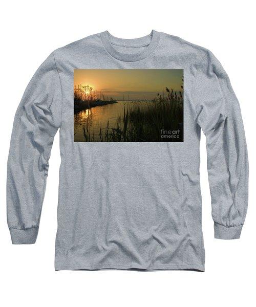 Water Reflections Long Sleeve T-Shirt