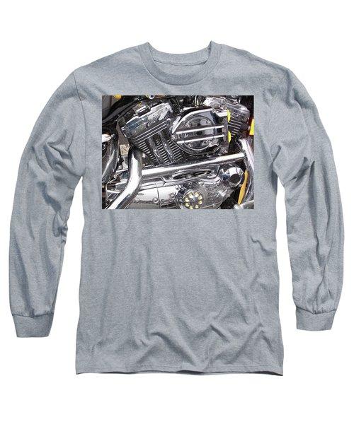 Long Sleeve T-Shirt featuring the photograph Water Spots by John Schneider