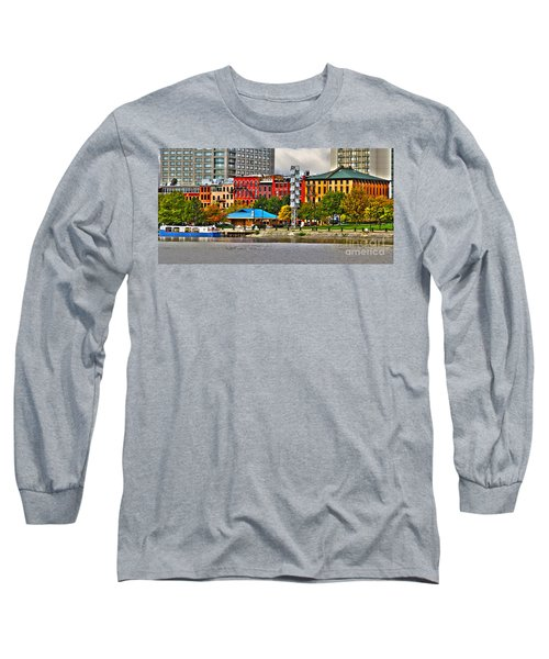 Water Street-toledo Ohio Long Sleeve T-Shirt