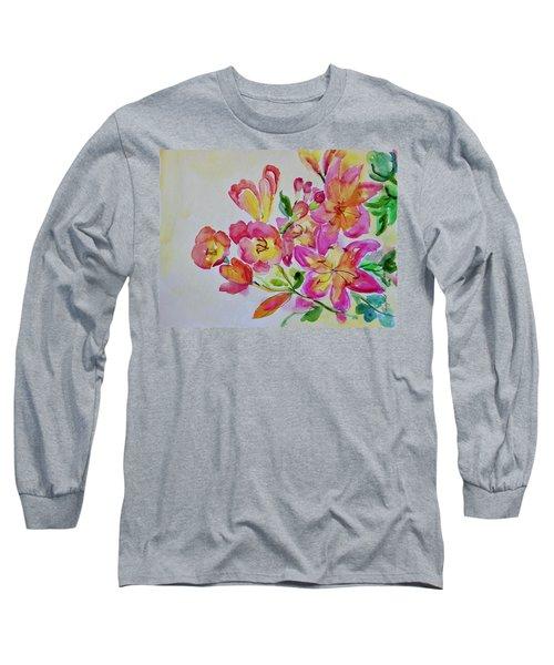 Watercolor Series No. 225 Long Sleeve T-Shirt