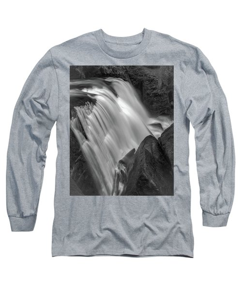 Long Sleeve T-Shirt featuring the photograph Waterfall 1577 by Chris McKenna