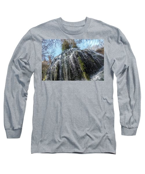 Waterfall From Below Long Sleeve T-Shirt