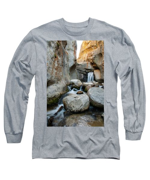 Waterfall In The Buttermilks Long Sleeve T-Shirt