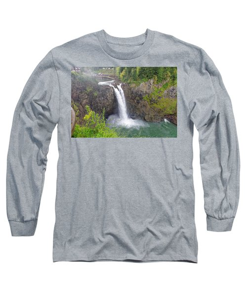 Waterfall Through The Mist Long Sleeve T-Shirt