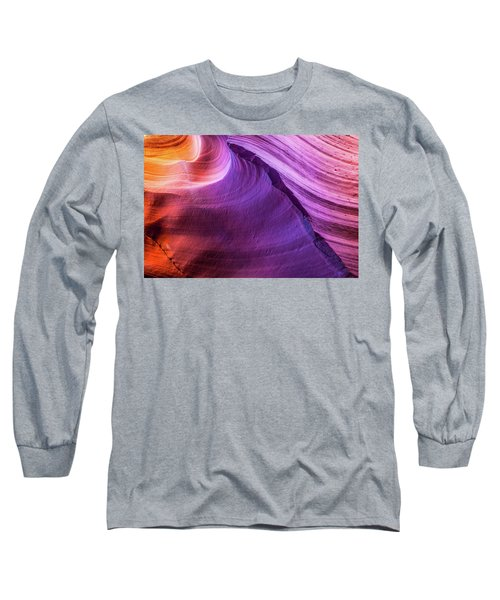 Waterhole Canyon Wave Long Sleeve T-Shirt