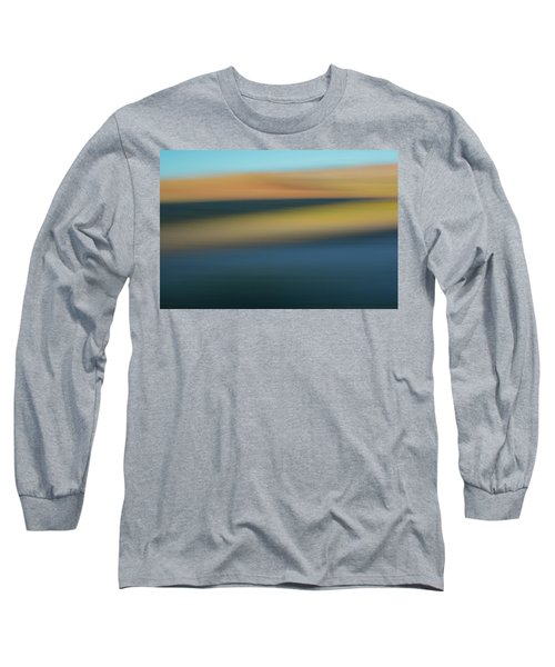 Long Sleeve T-Shirt featuring the mixed media Waterpocket by Shara Weber