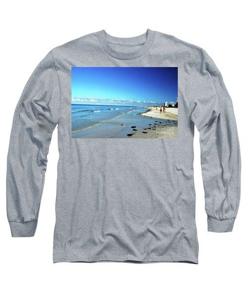 Long Sleeve T-Shirt featuring the photograph Water's Edge by Gary Wonning