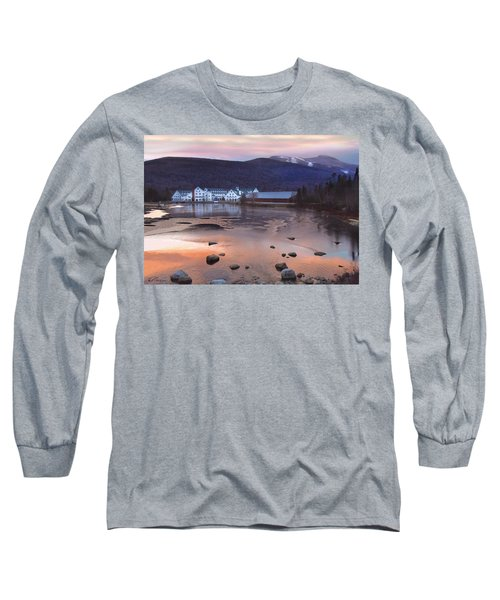 Waterville Valley Sunset Long Sleeve T-Shirt