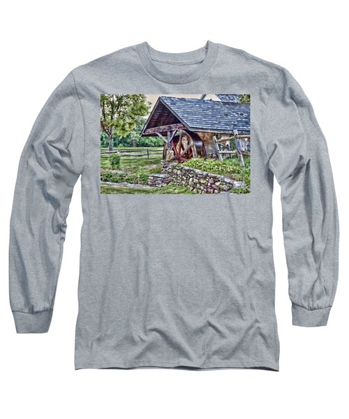 Waterwheel Long Sleeve T-Shirt