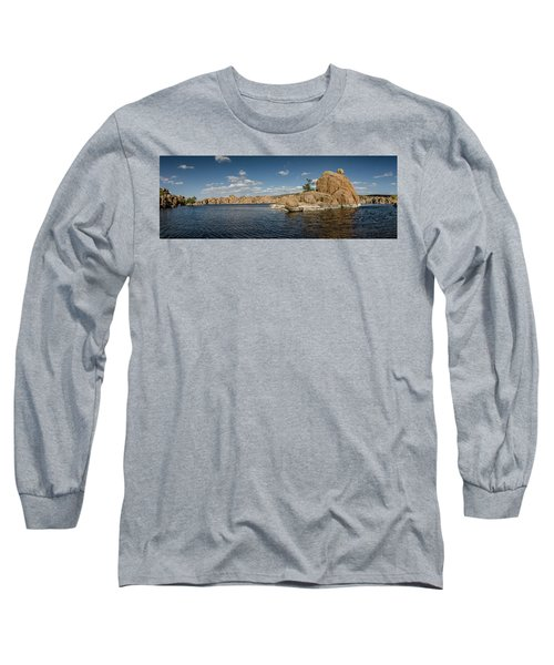 Watson Lake Panorama Long Sleeve T-Shirt