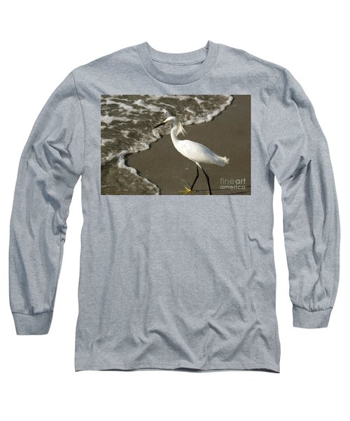 Wave And Snowy Long Sleeve T-Shirt