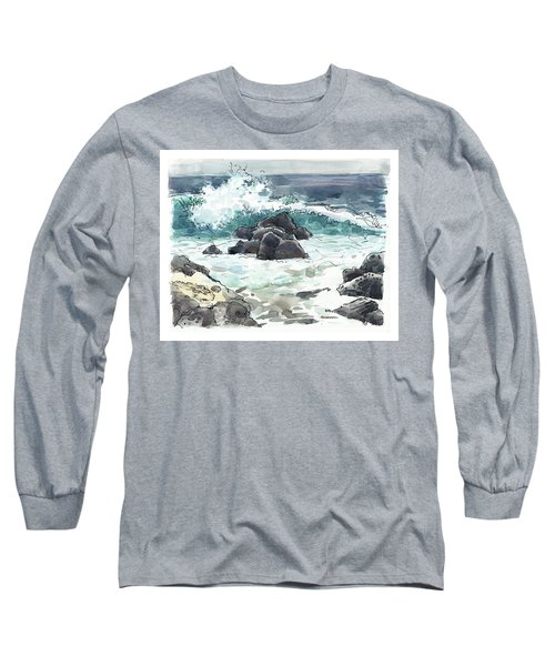 Wawaloli Beach, Hawaii Long Sleeve T-Shirt