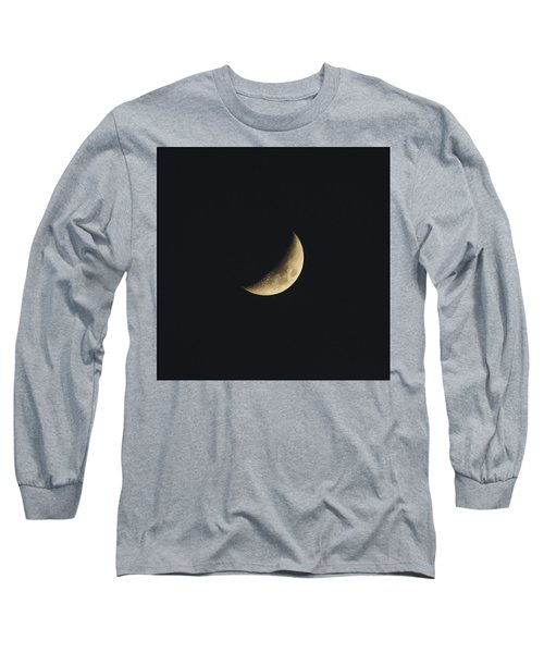 Waxing Crescent Spring 2017 Long Sleeve T-Shirt by Jason Coward