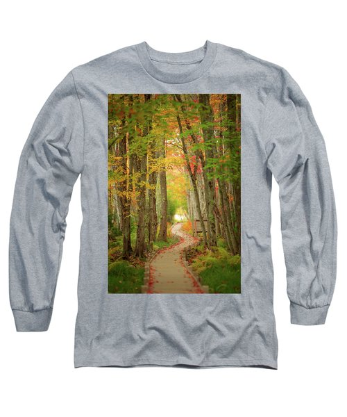 Long Sleeve T-Shirt featuring the photograph Way To Sieur De Monts  by Emmanuel Panagiotakis