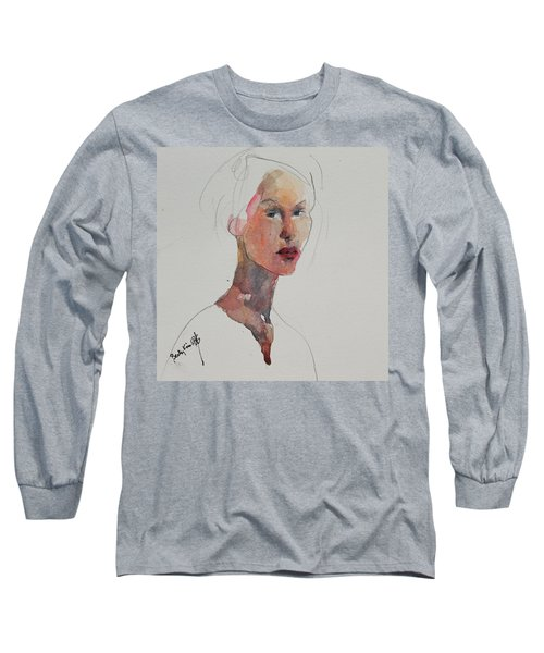 Wc Mini Portrait 2 Long Sleeve T-Shirt by Becky Kim