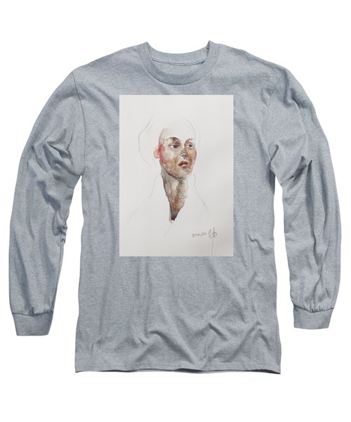 Wc Mini Portrait 4             Long Sleeve T-Shirt by Becky Kim