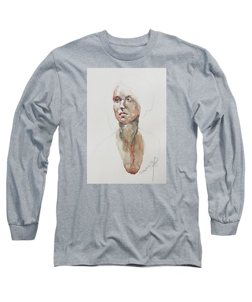 Wc Mini Portrait 5             Long Sleeve T-Shirt by Becky Kim
