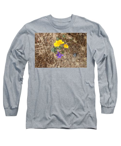 Long Sleeve T-Shirt featuring the photograph We Are Family by Marie Neder