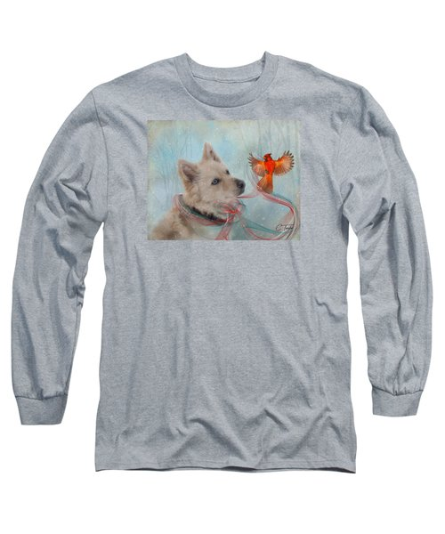 We Can All Get Along Long Sleeve T-Shirt by Colleen Taylor