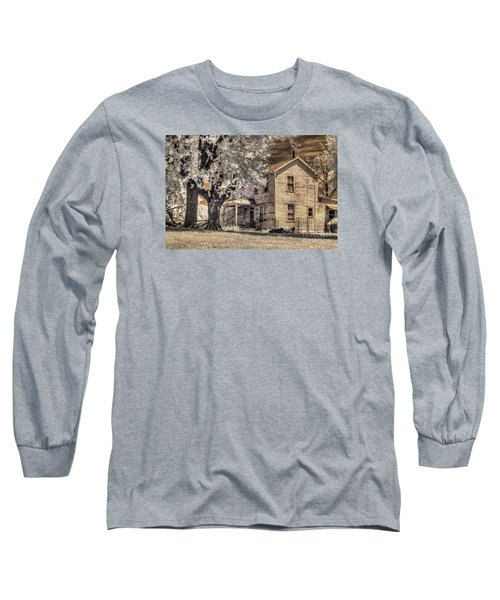 We Had Cows In The Yard Long Sleeve T-Shirt by William Fields
