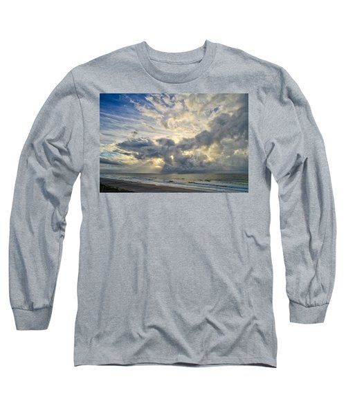 Weather Over Topsail Beach 2977 Long Sleeve T-Shirt