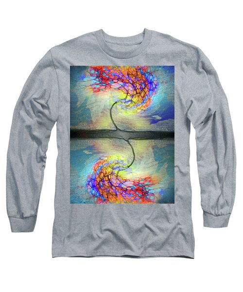 Long Sleeve T-Shirt featuring the photograph Weathering The Storm by Tara Turner