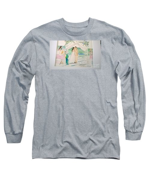 Wedding At Naples, Florida Long Sleeve T-Shirt