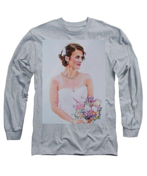 Wedding Day Long Sleeve T-Shirt by Constance DRESCHER