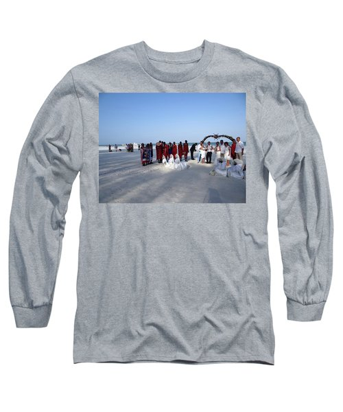 Wedding In The Afternoon Shadow Long Sleeve T-Shirt