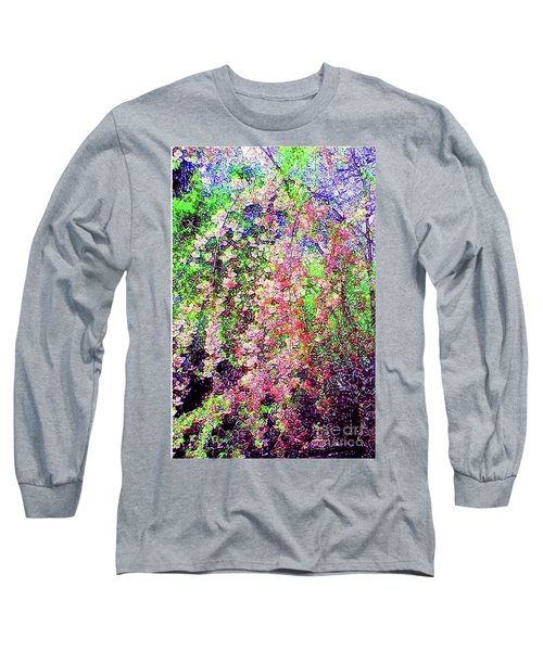 Weeping Cherry Long Sleeve T-Shirt by Holly Martinson