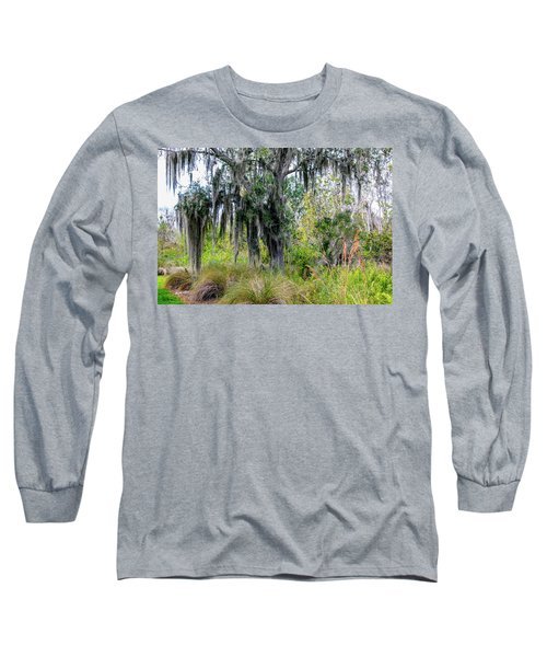 Long Sleeve T-Shirt featuring the photograph Weeping Willow by Madeline Ellis