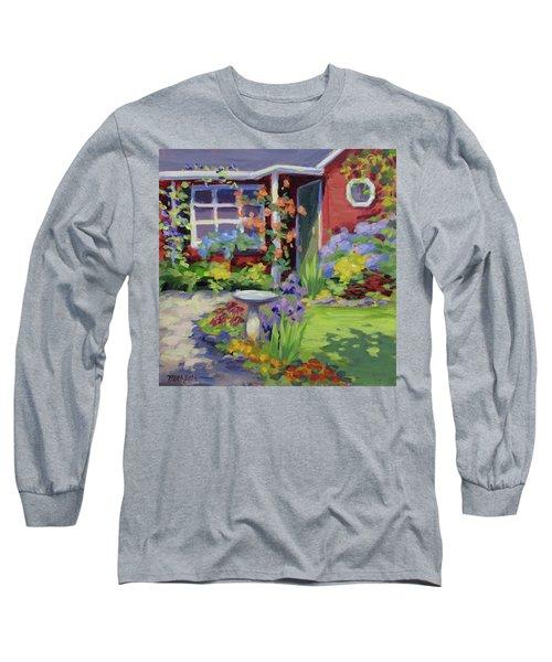 Welcome Home Long Sleeve T-Shirt by Karen Ilari