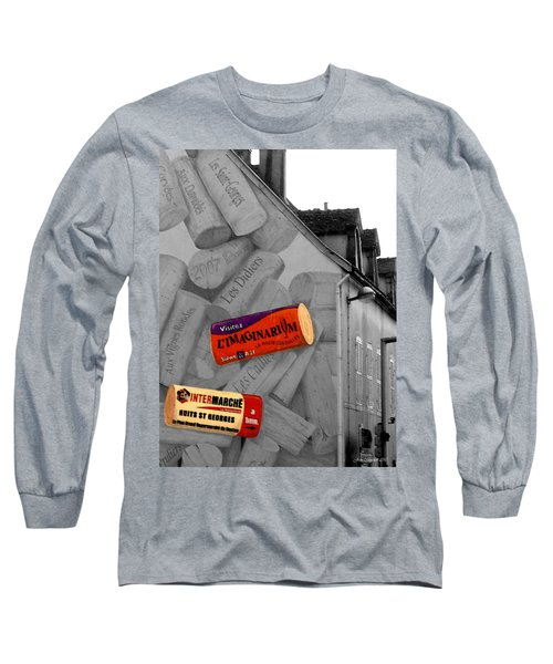 Long Sleeve T-Shirt featuring the photograph Welcome To Bordeaux by Joan  Minchak