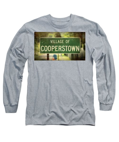 Welcome To Cooperstown Long Sleeve T-Shirt