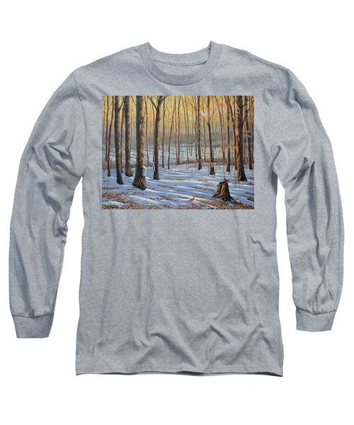 Welcoming The Sunrise Long Sleeve T-Shirt