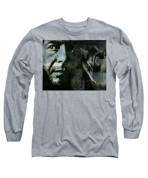 Long Sleeve T-Shirt featuring the painting Well , I've Heard There Is A Secret Chord by Paul Lovering
