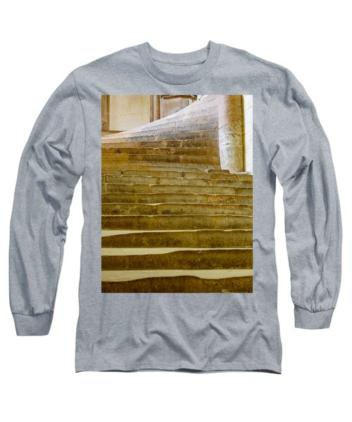 Wells Cathedral Steps Long Sleeve T-Shirt by Colin Rayner
