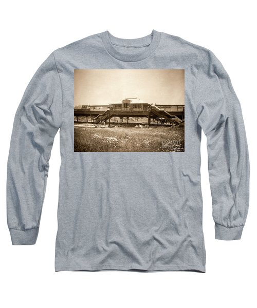 West 207th Street, 1906 Long Sleeve T-Shirt by Cole Thompson
