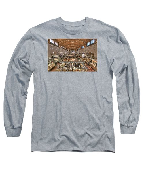 Long Sleeve T-Shirt featuring the photograph West Side Market by Brent Durken