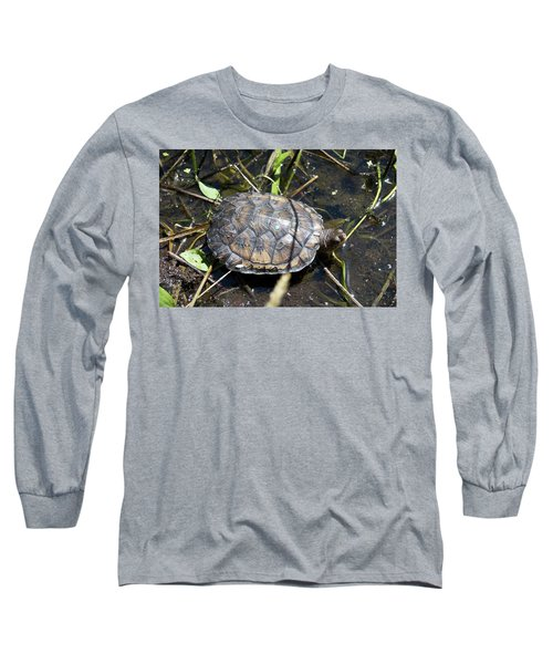 Western Pond Turtle, Actinemys Marmorata Long Sleeve T-Shirt
